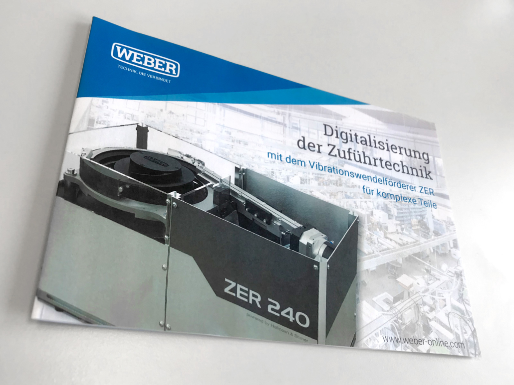 Bowl feeder - ZER - WEBER - Flyer