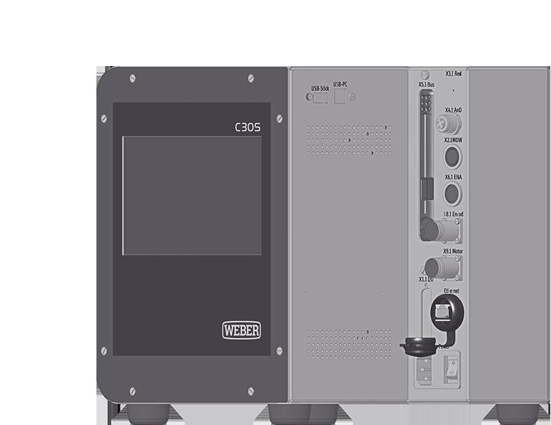 工艺控制器 C30S WEBER