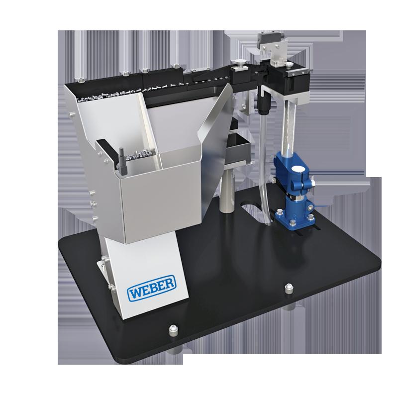 WEBER Step Feeder for bulk material - ZEL Feeding System